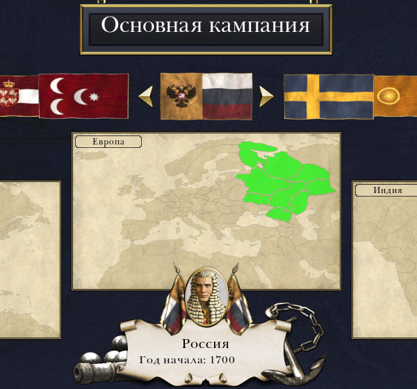 Empire Total War Российская Империя