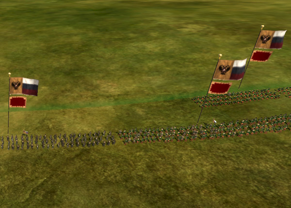 Флаги над юнитами в Empire: Total War